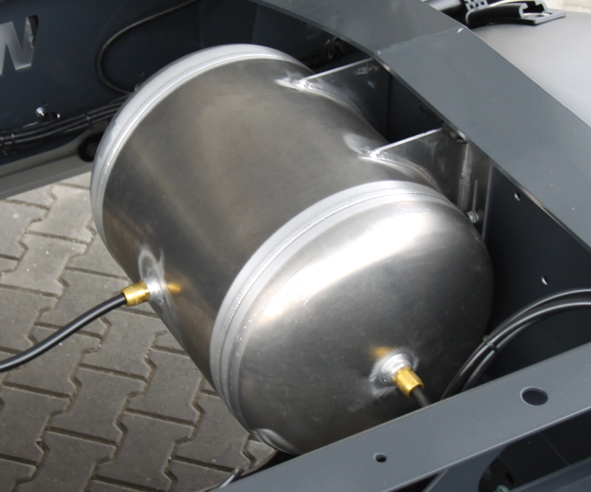 <p>Aluminiowe zbiorniki powietrza</p>