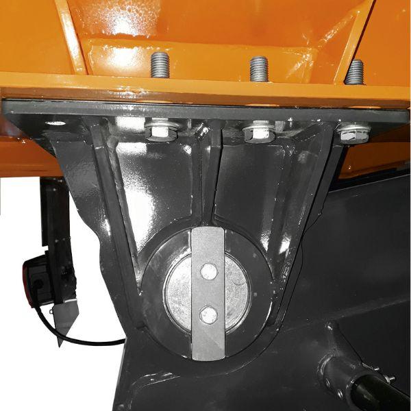 <p>Zawias skrzyni przygotowany do ekstremalnych<br /> warunków oraz dużej częstotliwości wyładunków.</p>