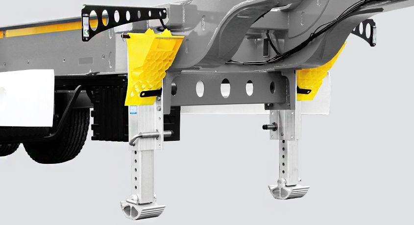 <p>Aluminiowe lub stalowe nogi podporowe</p>